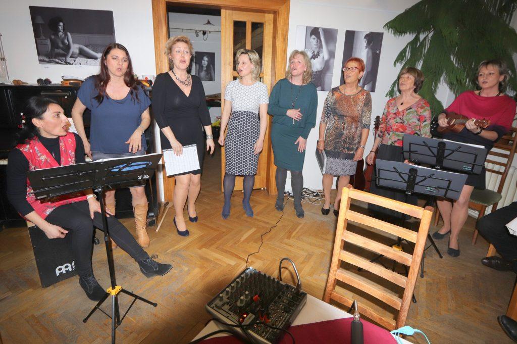 Společné vystoupení song ladies a lemaja 29.3.2019