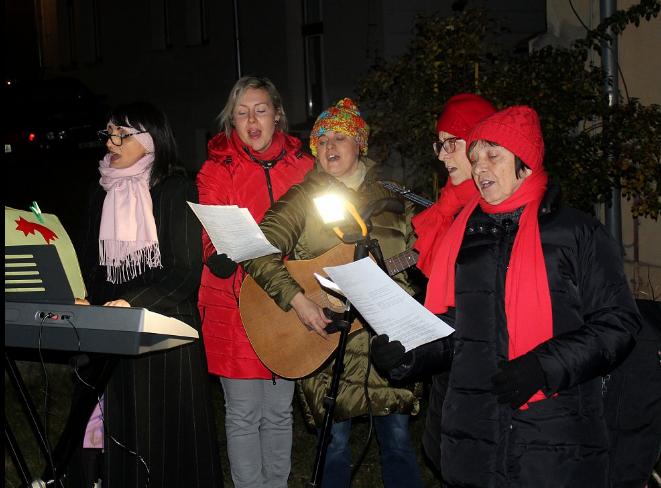 Kladensko zpívalo koledy - akce česko zpívá koledy 2019